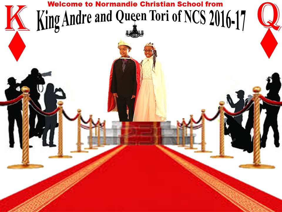 Welcome from King Andre and Queen Tori of NCS 2016-17