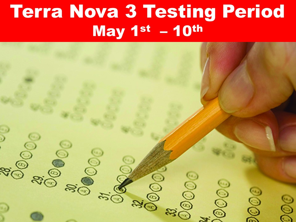 Terra Nova 3 Testing Period May 1st  – 10th