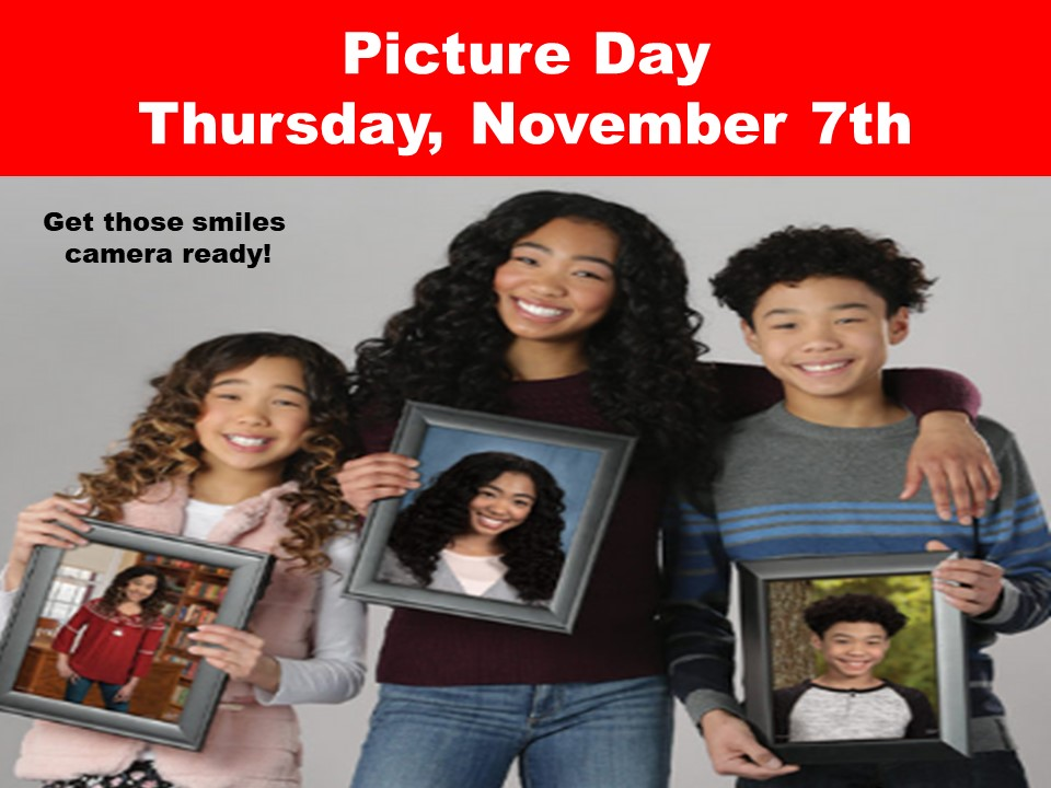 Picture Day Thursday, November 7th